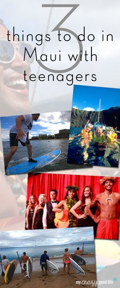 Teenagers can be a tough crowd on a family vacation. Here are 3 awesome activities for teens while visiting #Maui.