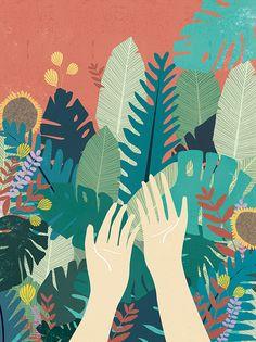 Vivere in armonia con la natura: le illustrazioni di Chloe Joyce   PICAME