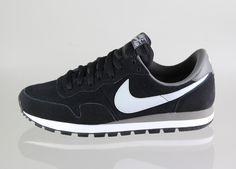 Nike Air Pegasus 83 LTR (black / lite base grey - dark pewter - bright ct)