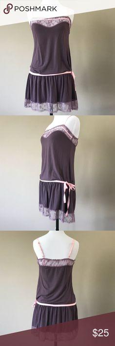 c4ea82247ad M Victoria s Secret Nightie Lingerie Stretchy cotton spandex blend and  straps are adjustable. Size medium