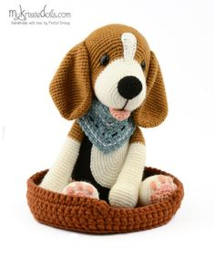 100 Amigurumi Crochet Dogs Patterns - Amigurumi World Amigurumi knitting toy dog models, all pretty nice toy dog models knitting recipes are waiting for you. In this article we will introduce you the best models of amigurumi crochet dog patterns. Bunny Crochet, Cute Crochet, Crochet Animals, Crochet Dolls, Knit Crochet, Crochet Dog Patterns, Free Amigurumi Patterns, Amigurumi Tutorial, Stuffed Animal Patterns