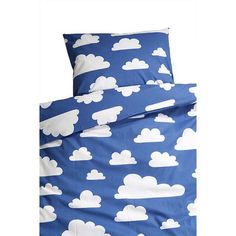 Bedding Set . Single - Clouds Blue - This Modern Life