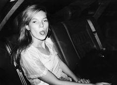 kate moss paris fashion week 1992