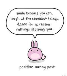 Positive bunny :)