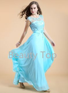 Prom Dress Lace Bridesmaid Dress Long Prom Dresses by BeautyTop a6d5211b6419