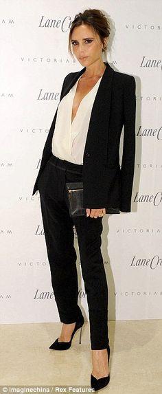 Victoria Beckham seguí los estilos de locura propia