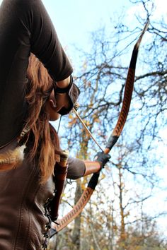 "archerofthenorth: "" ragarron: "" archerofthenorth: "" Shooting "" Is female archery about to take over my feed? I blame you, Katniss. "" Haha, no, don't blame her. Sure, book-Katniss was one of many that inspired my love for archery, but I think Legolas..."