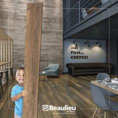 Strata - Piso vinílico LVT.   Réguas Extra looooooooooooooongas...    #lvt #vinílicos #beaulieudobrasil #strata #solução #decor #design #pisos