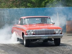 Officially, planning began a year ago and the event went off flawlessly thanks to the efforts of ' 60 Chevy 409 racer Ray Barnhart. Description from superchevy.com. I searched for this on bing.com/images