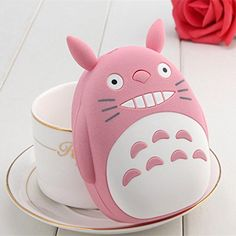 Totoro Cute Portable Charger Universel for iPhone 6 Plus 5S 5C 5 4S iPad Air 2 Mini 3 HTC One M9 Motorola Nokia  Pink -- You can get additional details at the image link.