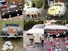 Avez-vous pensé à la déco de la voiture ? Summer Wedding, Diy Wedding, Wedding Day, Wedding Car Decorations, Table Decorations, Wedding Ring Box, Just Married, Marry Me, Newlyweds