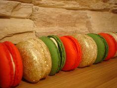 Vánoční makronky Pumpkin, Vegetables, Food, Pumpkins, Essen, Vegetable Recipes, Meals, Squash, Yemek
