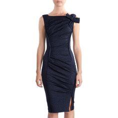 Nina Ricci Bow Shoulder Dress-classy