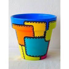This Moment Tom Fedro - Fidostudio Flower Pot Art, Flower Pot Crafts, Clay Pot Projects, Clay Pot Crafts, Painted Plant Pots, Painted Flower Pots, Bottle Painting, Bottle Art, Clay Pot People