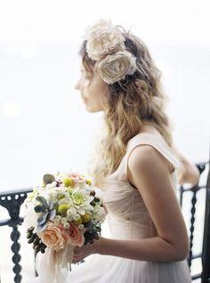 #hairstyles  Photography: Polly Alexandre - alexandreweddings.com Event Design + Planning: Mary Lee Herrington Celebrations - maryleeherrington.com/ Floral Design: Roni Fleurs - roni-fleurs.com/  Read More: http://www.stylemepretty.com/2013/04/15/south-of-france-wedding-from-polly-alexandre-forever-ever-events/