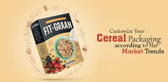 Boxes for cereals hold a great possibility for customization. You have the liberty of selecting from a number of design parameters while designing your own custom box.  #Packaging #design #customized #cerealpackaging #Foodie #breakfast #style