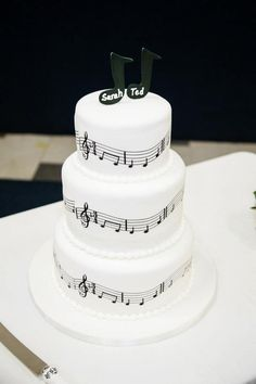 How my music cake turned out!