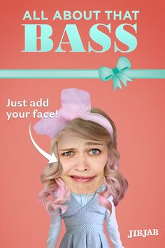 "Big laughs are no treble when you cast your friends in the super hit ""All About That Bass!"""