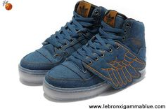 Low Price Adidas X Jeremy Scott Wings Denim Shoes Basketball Shoes Store