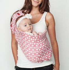 Hotsling baby carrier