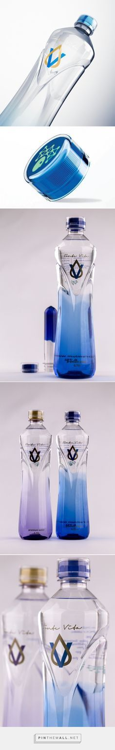 FonteVita PET bottle design by PET Engineering - http://www.packagingoftheworld.com/2017/09/fontevita.html