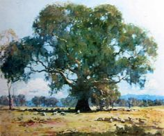 Arthur Streeton: The Red Gum