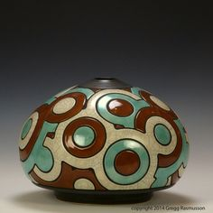 Ceramic pieces by Gregg Rasmusson Pottery Wheel, Pottery Vase, Ceramic Pottery, Ceramic Art, Modern Art Sculpture, Stone Sculpture, Abstract Sculpture, Contemporary Vases, Vase Shapes