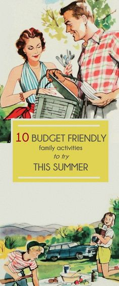Need to save money but also want to have fun this summer? Click through for 10 Budget Friendly Family Activities!
