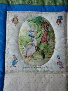 Detail of Beatrix Potter quilt Beatrix Potter, Knitting For Kids, Knit Fashion, Quilts, Painting, Detail, Art, Art Background, Quilt Sets