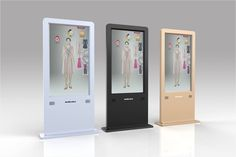 Interactive Digital Screen Marketing 57 Ideas For 2019 Kiosk Design, Signage Design, Display Design, Booth Design, Retail Design, Wooden Screen Door, Diy Screen Door, Point Of Sale, Hidden Projector