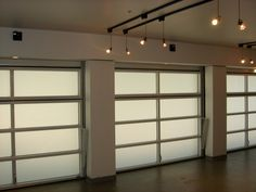 Translucent Garage Doors With Concealed Tracks