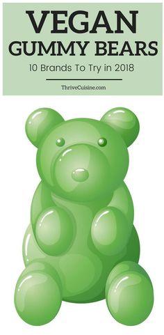 Best vegan gummies and gummy bear brands to buy in-store Source by thrivecuisine Vegetarian Desserts, Vegan Sweets, Vegan Snacks, Vegan Recipes, Healthy Sweets, Healthy Food, Vegan Gummy Bears, Best Gummy Bears, Gummy Bear Brands