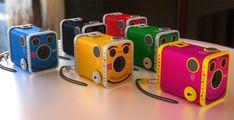Colorful Kodak Brownie cameras - so cute!