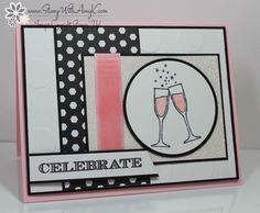 Making Spirits Bright Anniversary Card