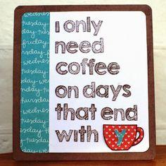Ideas & Paper: Coffee Lovers Bloghop!
