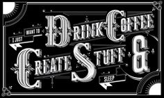 Type Mural + Video by Ben Johnston, via Behance