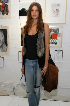Daria Werbowy, I love her unique style. <3