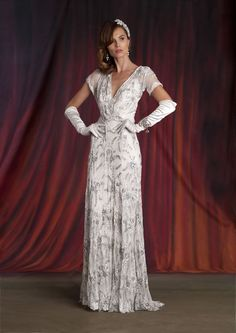 The new Eliza Jane Howell collection is the epitome of grown-up vintage glamour Vintage Gowns, Vintage Bridal, Vintage Glamour, Irish Wedding Dresses, Designer Wedding Dresses, Hollywood Glamour Wedding, Glamorous Wedding, Bridal Collection, Dress Collection