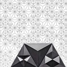 Triangle-constellation patterns showing the infinite ways of installing 'Tre' #concrete #concretetiles #contemporarytiles #tiles #tileaddiction #tileporn #tiledesign #triangle #surfacedesign #surfacepattern #3Dtiles #backsplash #ihavethisthingwithtiles #featurewall #ihavethisthingwithwalls #walldecor #walldecoration #pattern #constellation