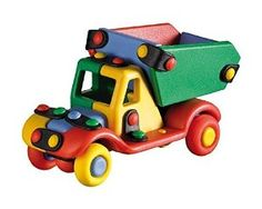 Amazon.com: Mic-O-Mic Dump Truck, Small: Toys & Games