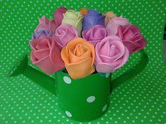 Rosas para bolígrafos