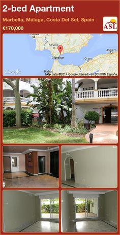 2-bed Apartment in Marbella, Málaga, Costa Del Sol, Spain ►€170,000 #PropertyForSaleInSpain