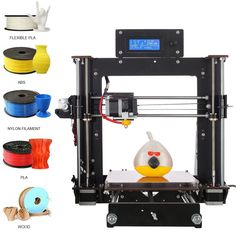 2017 Upgraded Quality High Precision Reprap Prusa i3 DIY 3d Printer From US #UnbrandedGeneric