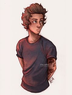 Awesome Harry Styles drawing!