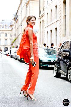 Helena Bordon - Rue Cambon - Paris FW