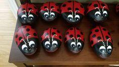 painted ladybugs