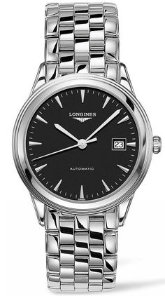 Longines Watch Flagship Mens #bezel-fixed #bracelet-strap-steel #brand-longines #case-depth-8mm #case-material-steel #case-width-38-5mm #date-yes #delivery-timescale-call-us #dial-colour-black #gender-mens #luxury #movement-automatic #new-product-yes #official-stockist-for-longines-watches #packaging-longines-watch-packaging #style-dress #subcat-flagship #supplier-model-no-l4-874-4-52-6 #warranty-longines-official-2-year-guarantee #water-resistant-30m
