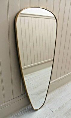 Miroir rectangle métal 120x60cm - COCTEAU - miroirs de salle ...