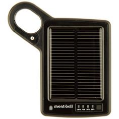 montbell's much lighter mobile power pack is the one i've got