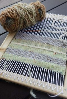 How to Make a Simple Weaving Loom. Simple frame weaving looms can be made at home with inexpensive artists' stretcher bars (also called stretcher strips) and common household tools and materials. These looms produce quite acceptable results for making lace and weaving simple projects such as small home decor articles and plain tapestries. You can...